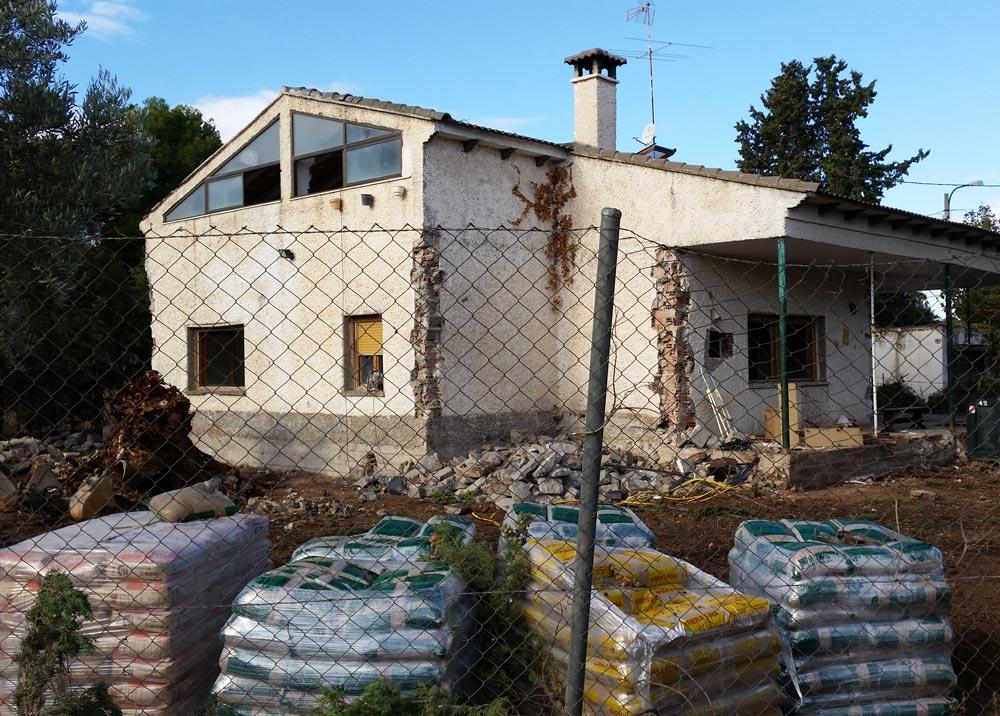 rehabilitación de unifamiliar en zaragoza - cota zeta - arquitectura y construcción