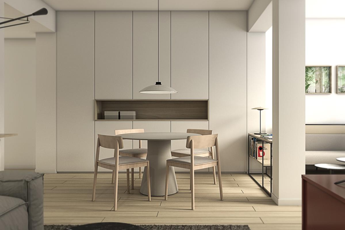 Reforma integral piso Zaragoza con interiorismo - infografía