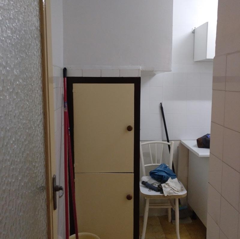 reforma integral de apartamento en zaragoza - estado anterior de la cocina