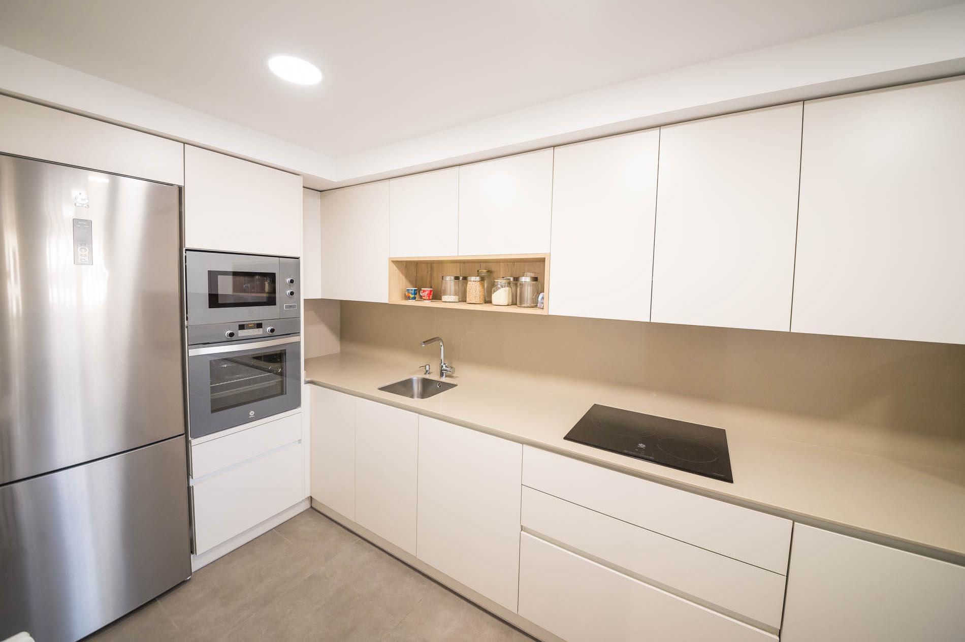reforma integral de piso en zaragoza - cotazeta - arquitectura en Zaragoza